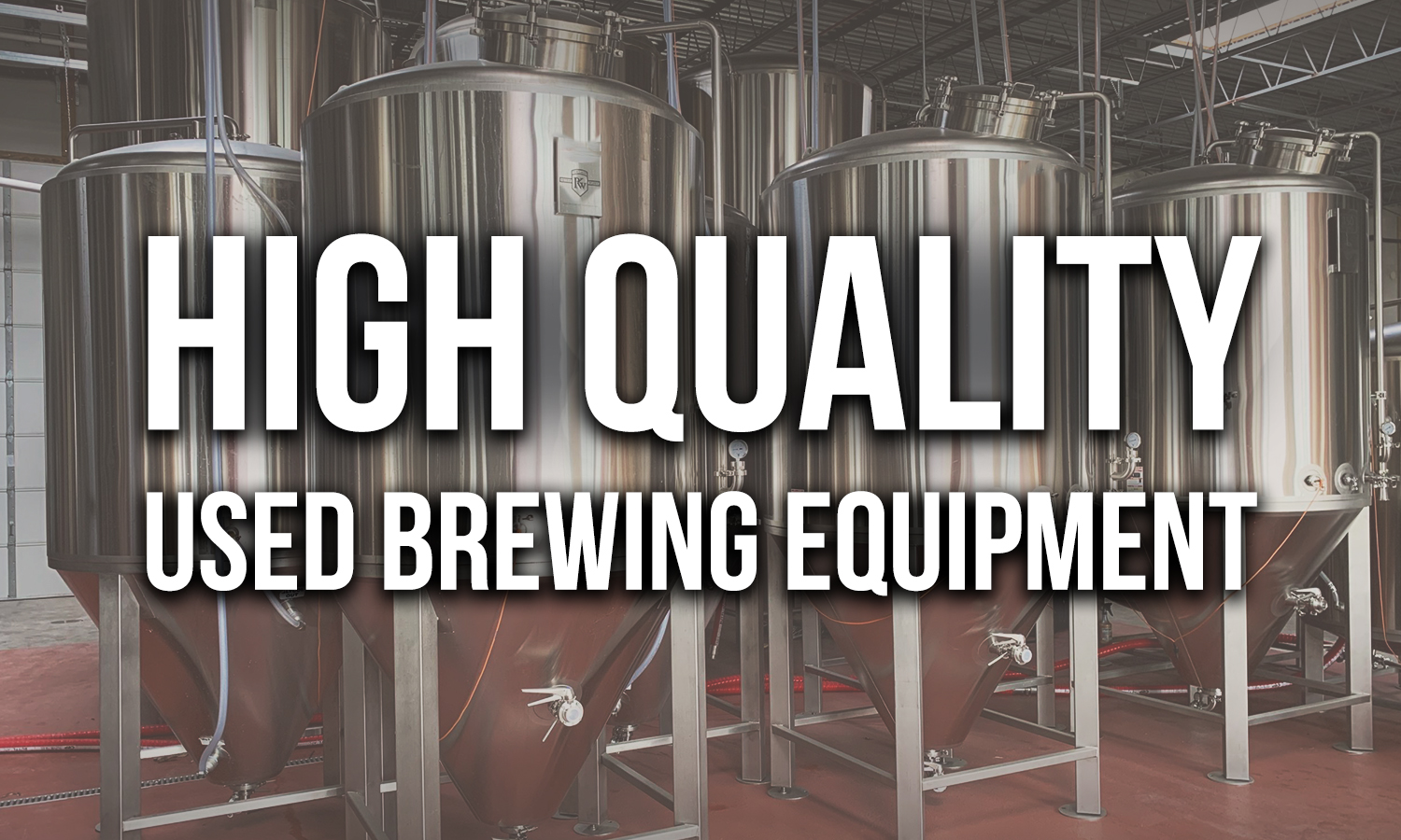 High Quality Used Brewing Equipmnent - 1